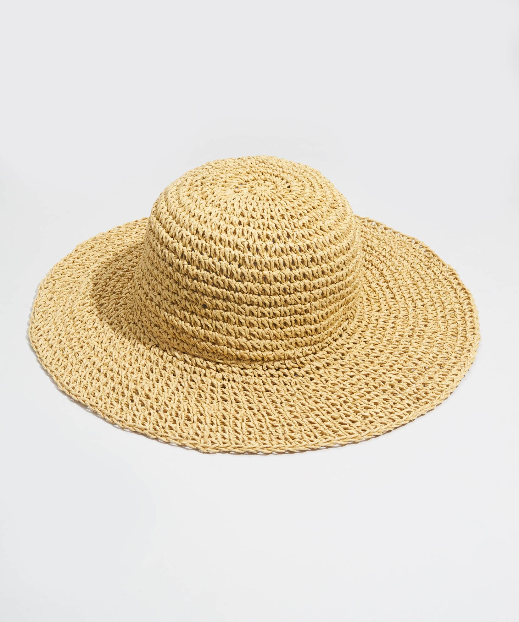 Natural - The Packable Crochet Hat