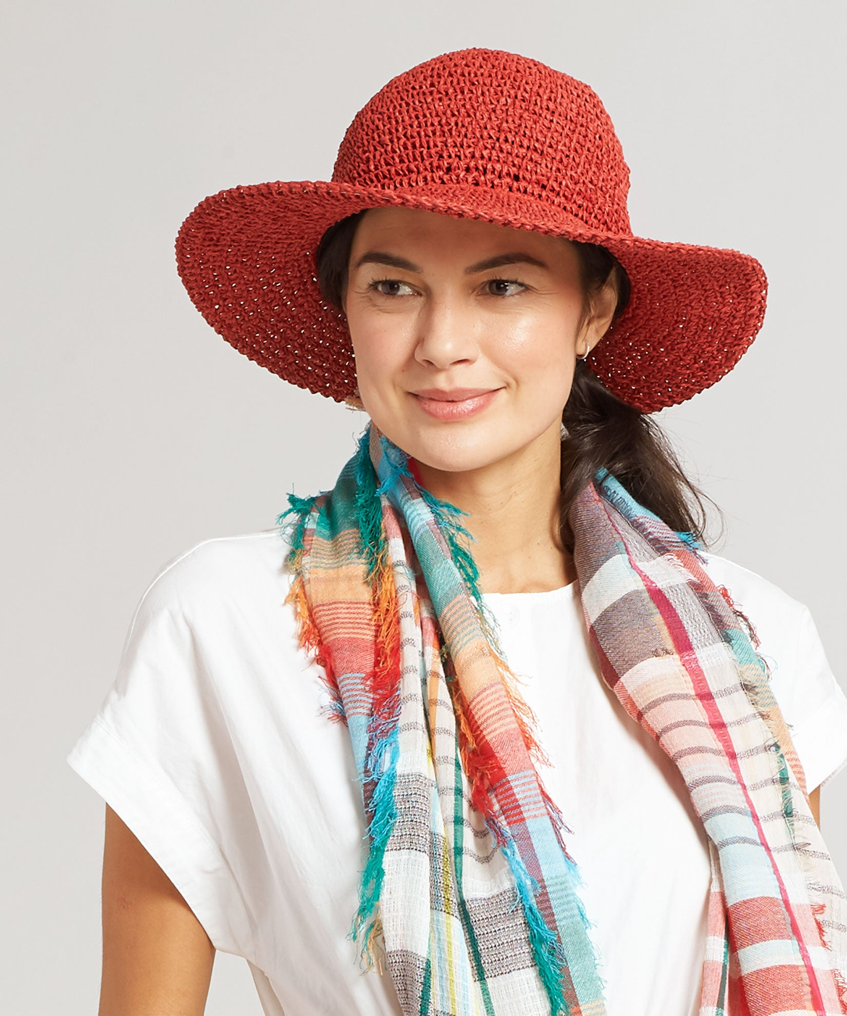 Resort Red - The Packable Crochet Hat