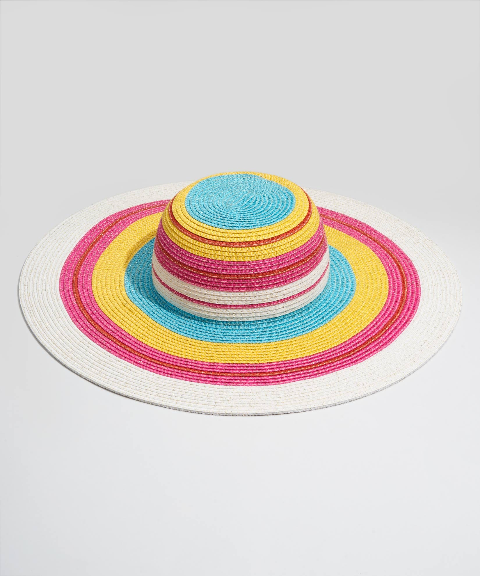 Multi - Metallic Stripe Hat
