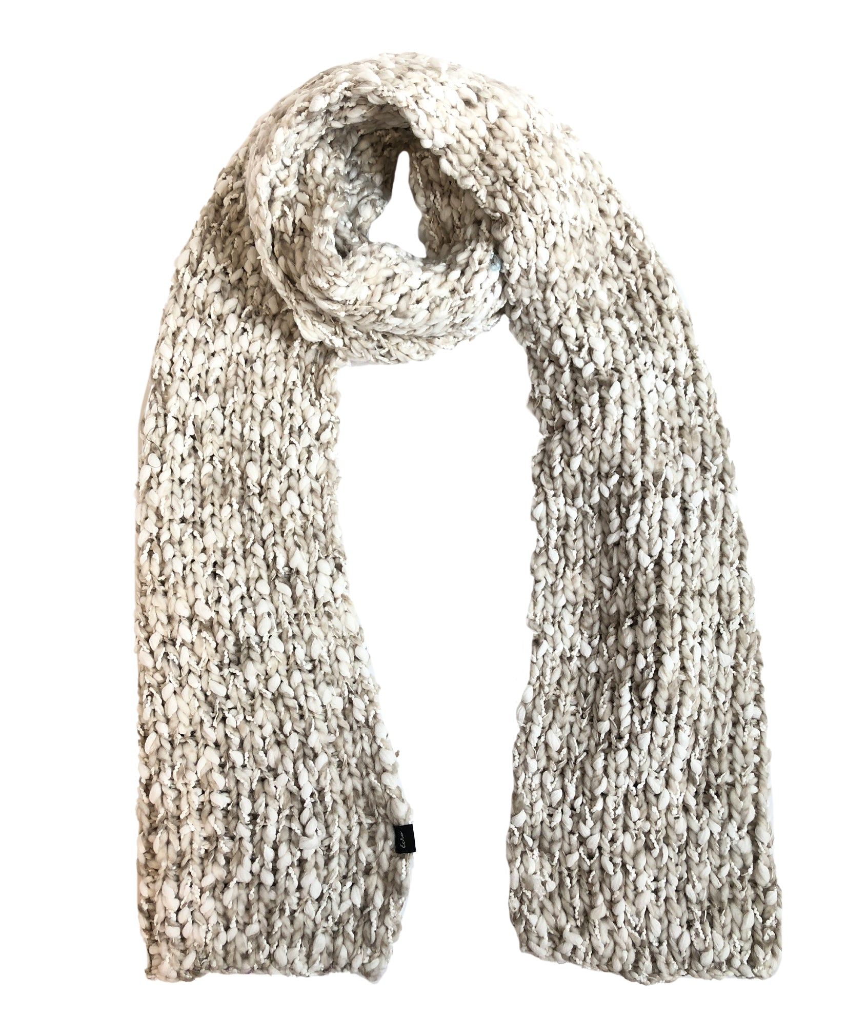 Chai - Heathered Roving Scarf
