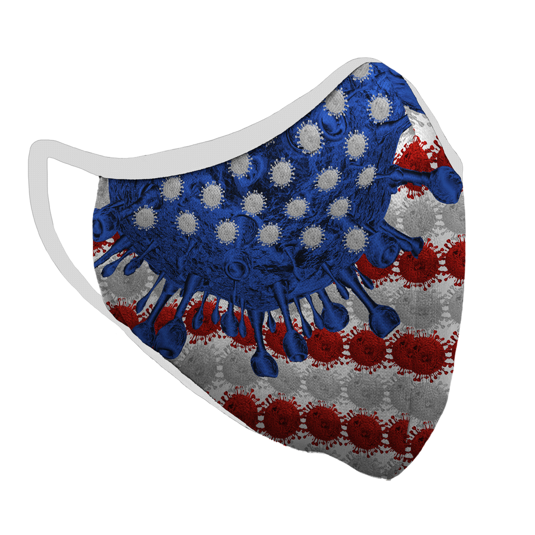 America Evolves Premium Fitted Face Cover