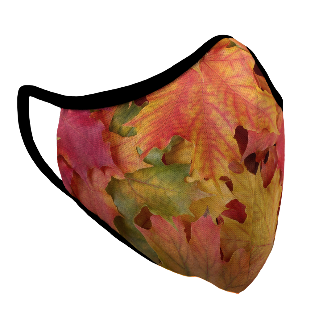 Autumn Premium Fitted Face Cover