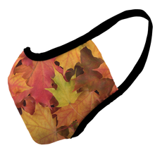 Load image into Gallery viewer, Autumn Premium Fitted Face Cover