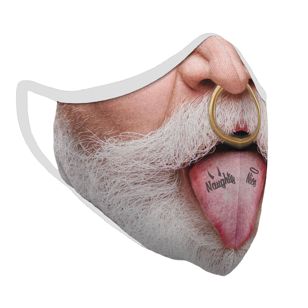 Bad Santa Premium Fitted Face Cover