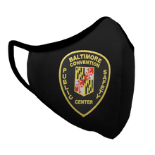 Load image into Gallery viewer, Baltimore Convention Public Safety Center Premium Fitted Face Cover