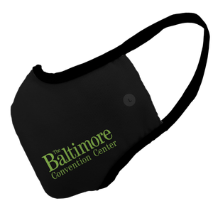 Baltimore Convention Center Cyber Premium Fitted Face Cover