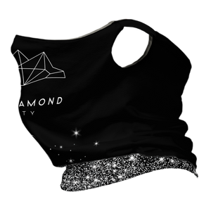Black Diamond Premium Fitted Neck Gaiter with Ear Support