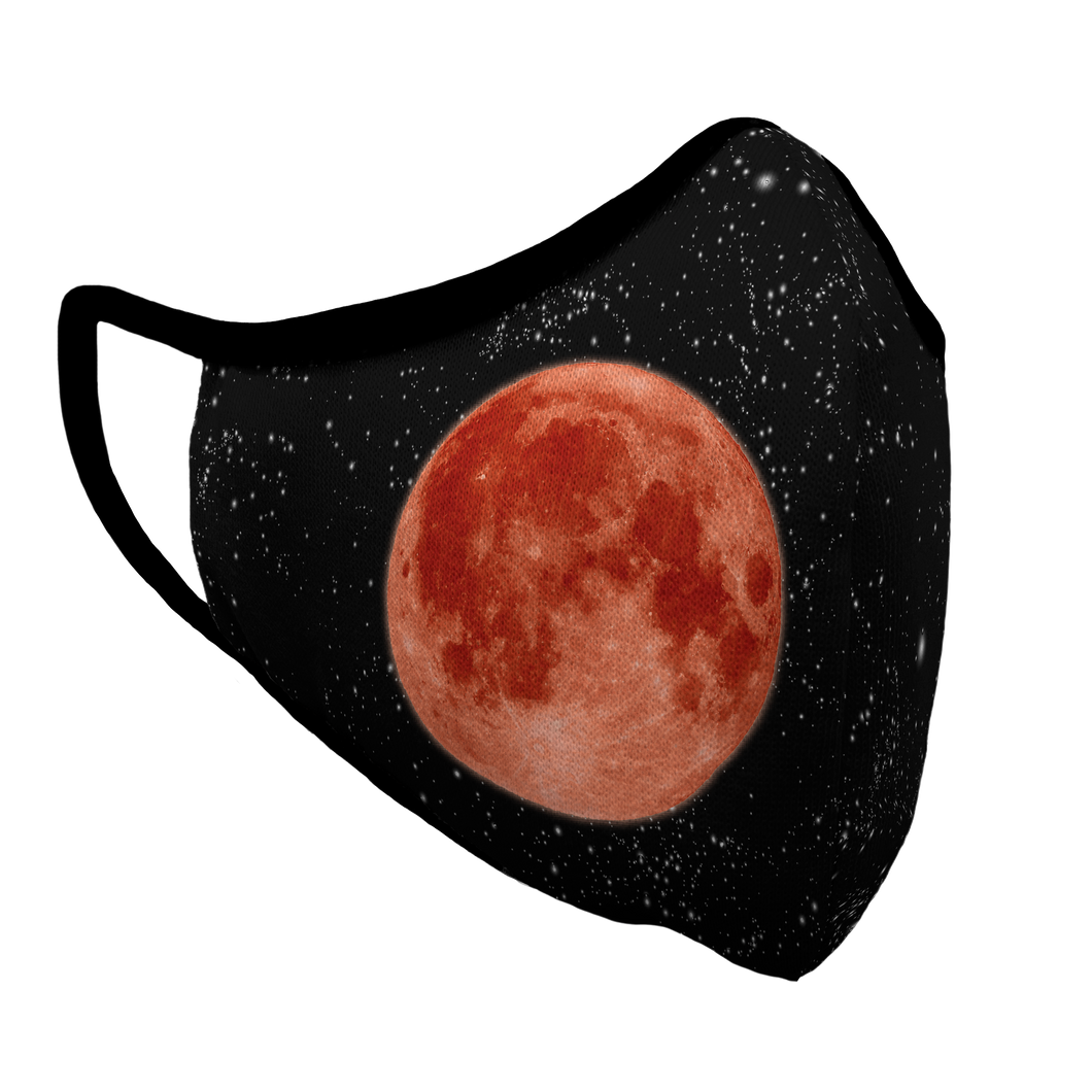 Blood Moon Premium Fitted Face Cover