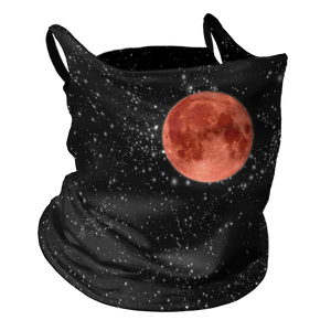Blood Moon Premium Fitted Neck Gaiter with Ear Support