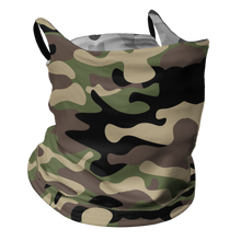 Load image into Gallery viewer, Camo-Fide Premium Fitted Neck Gaiter with Ear Support