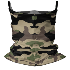 Camo-Fide Premium Fitted Neck Gaiter with Ear Support