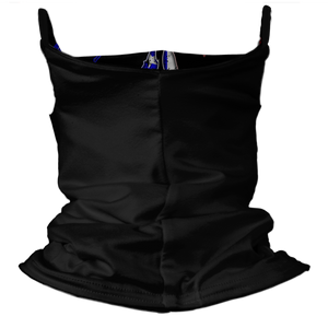 Captain Punisher Premium Fitted Neck Gaiter with Ear Support