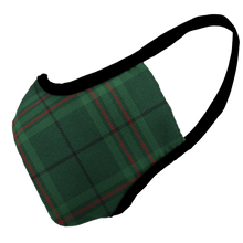 Load image into Gallery viewer, Christmas Plaid Premium Fitted Face Cover