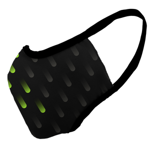 Drop Dots Premium Fitted Face Cover
