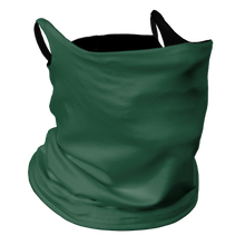 Load image into Gallery viewer, Solid Forest Premium Fitted Neck Gaiter with Ear Support with Black Trim