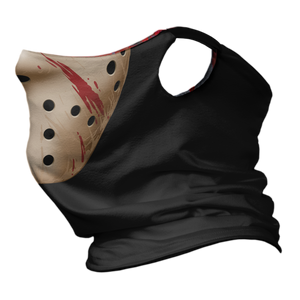Friday the 13th Premium Fitted Neck Gaiter with Ear Support