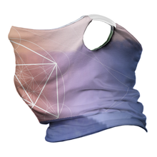 Load image into Gallery viewer, Forest Flow Premium Fitted Neck Gaiter with White Trim Ear Support