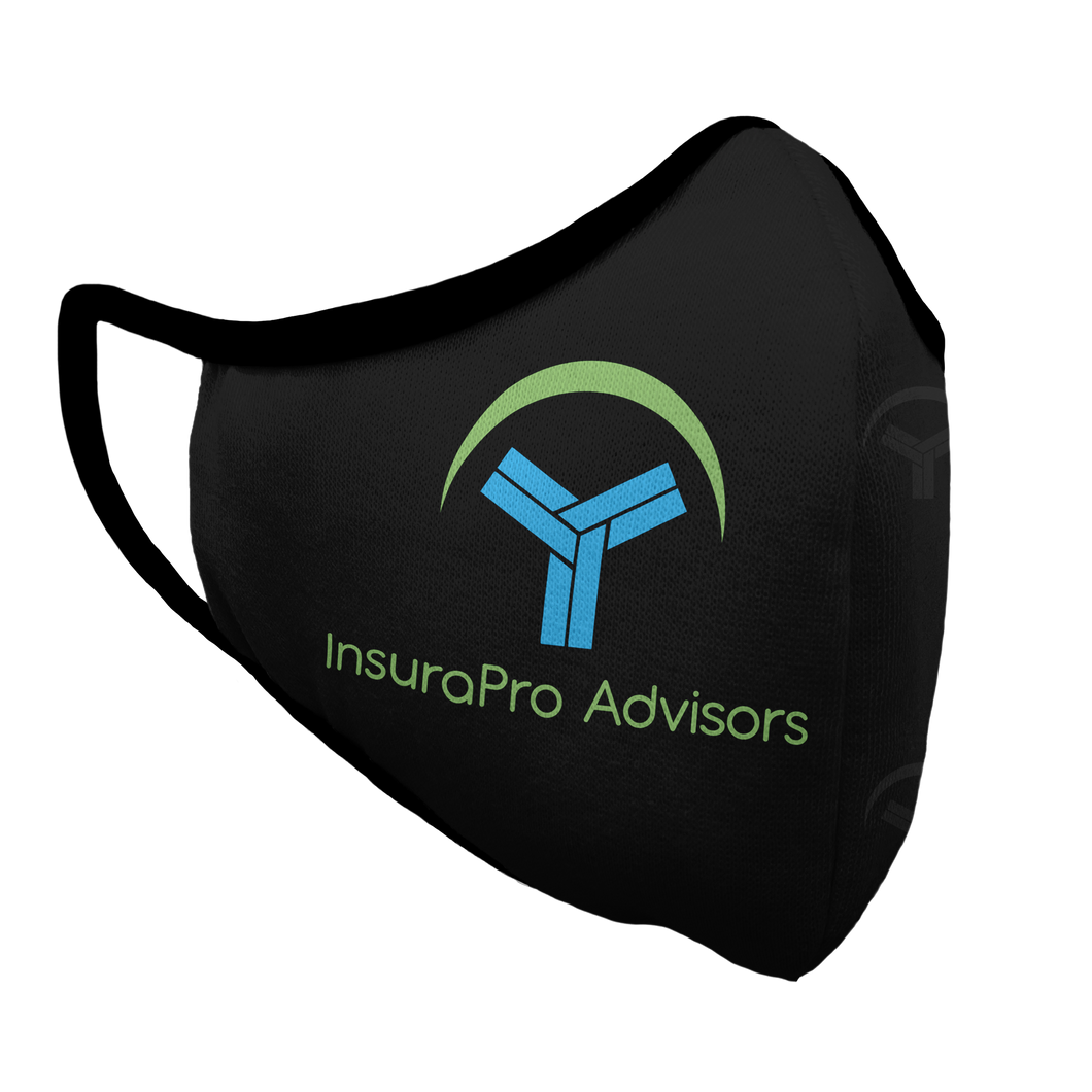InsuraPro Advisors Premium Fitted Face Cover