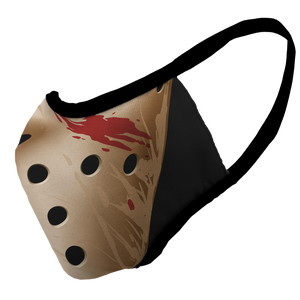 Friday the 13th Premium Fitted Face Cover