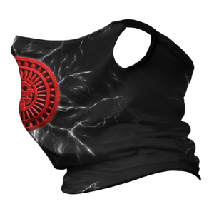 Lord of Mictlan Premium Fitted Neck Gaiter with Ear Support