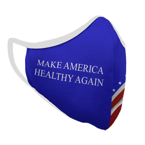 Make America Healthy Again Premium Fitted Face Cover