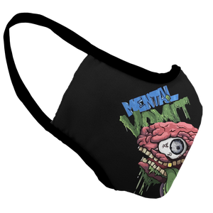 Mental Vomit Show Group Premium Fitted Face Cover