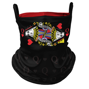 My Queen Premium Fitted Neck Gaiter with Ear Support