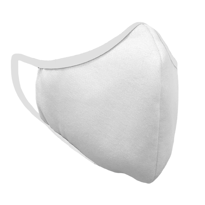 Plain White - Single Ply- Value Fitted Face Cover