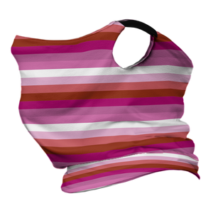 Pride (L) Premium Fitted Neck Gaiter with Ear Support
