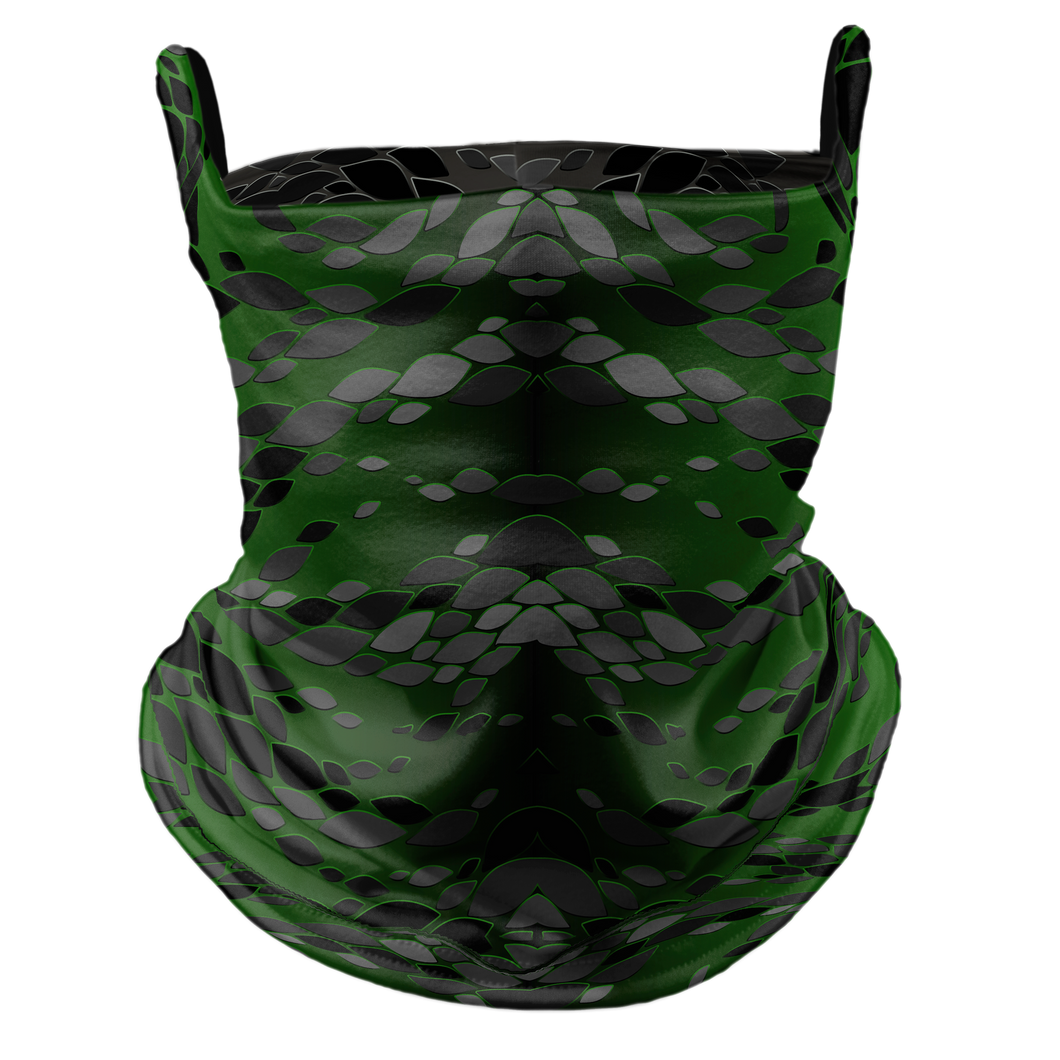 Reptilian Premium Fitted Neck Gaiter with Ear Support