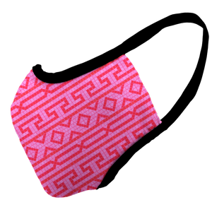 Roma Pink Premium Fitted Face Cover