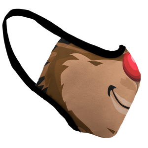 Rudolph Premium Fitted Face Cover