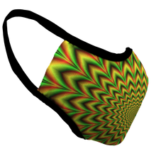 Load image into Gallery viewer, Rasta Trip Premium Fitted Face Cover
