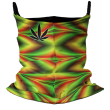 Load image into Gallery viewer, Rasta Trip Premium Fitted Neck Gaiter with Ear Support
