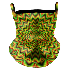 Rasta Trip Premium Fitted Neck Gaiter with Ear Support
