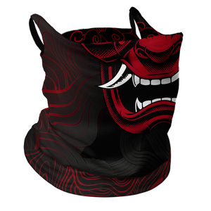 Samurai Premium Fitted Neck Gaiter with Ear Support