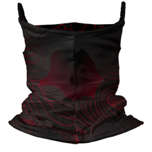 Load image into Gallery viewer, Samurai Premium Fitted Neck Gaiter with Ear Support
