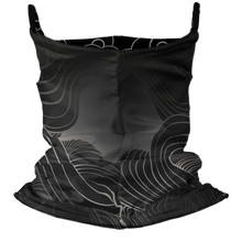 Load image into Gallery viewer, Smooth Samurai Premium Fitted Neck Gaiter with Ear Support