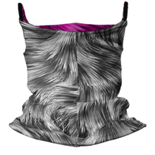 Load image into Gallery viewer, Snow Bunny Premium Fitted Neck Gaiter with Ear Support