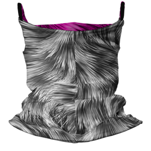 Snow Bunny Premium Fitted Neck Gaiter with Ear Support