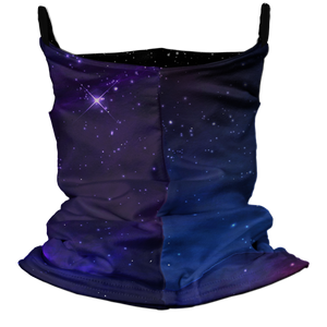 Space Dreams Premium Fitted Neck Gaiter with Ear Support