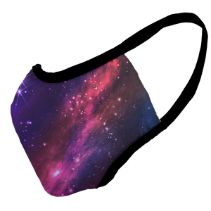 Space Dreams Premium Fitted Face Cover