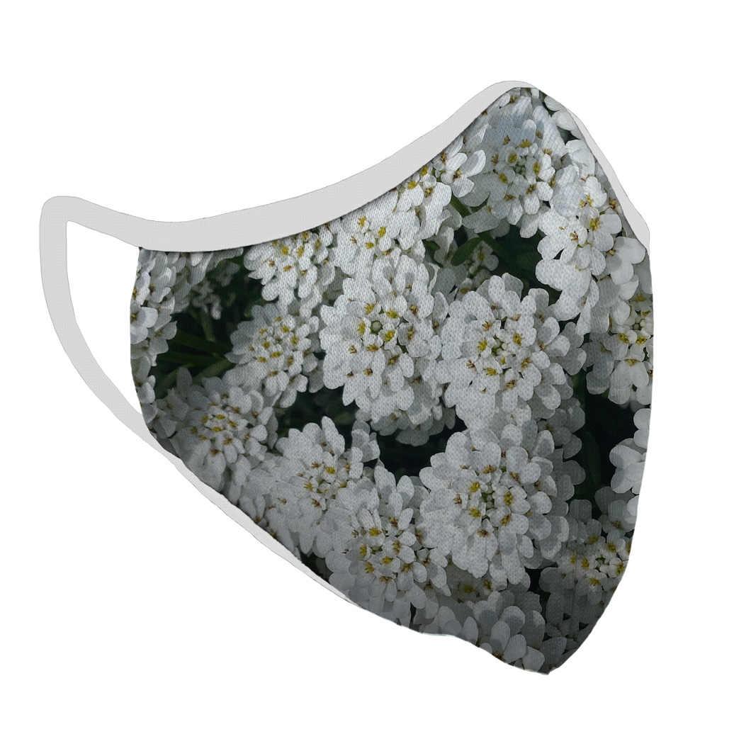 Springtime Premium Fitted Face Cover