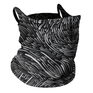 Strings Attached Premium Fitted Neck Gaiter with Ear Support