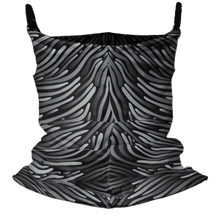 Load image into Gallery viewer, Strings Attached Premium Fitted Neck Gaiter with Ear Support