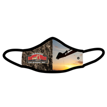 Load image into Gallery viewer, Skinner Excavating Inc. Premium Fitted Face Cover
