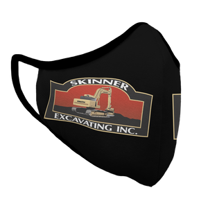 Skinner Excavating Inc. Premium Fitted Face Cover