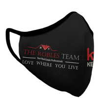 Load image into Gallery viewer, The Robles Team Premium Fitted Face Cover