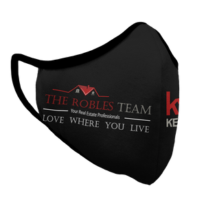 The Robles Team Premium Fitted Face Cover