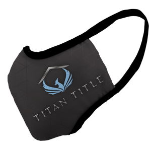 TITAN TITLE Premium Fitted Face Cover